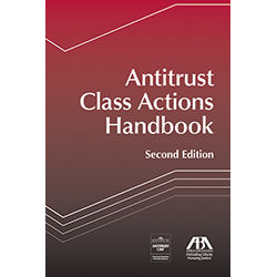 Jim DeLine serves as an editor of ABA's recently published Antitrust Class Actions Handbook, Second Edition