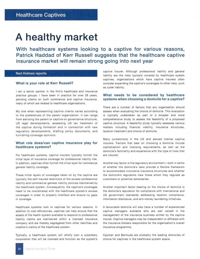 Image of article  page 1- Healthy Market