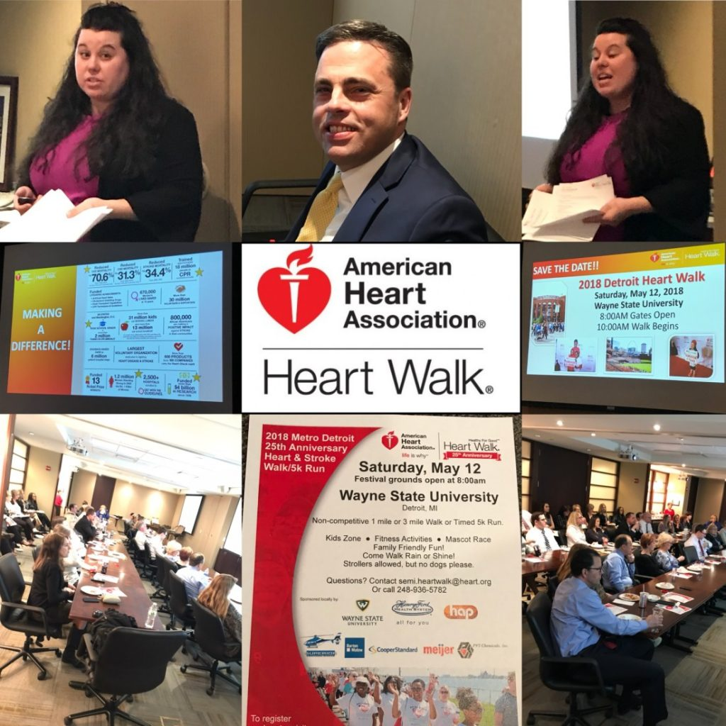 Kerr Russell kicks off American Heart Association Heart Walk involvement