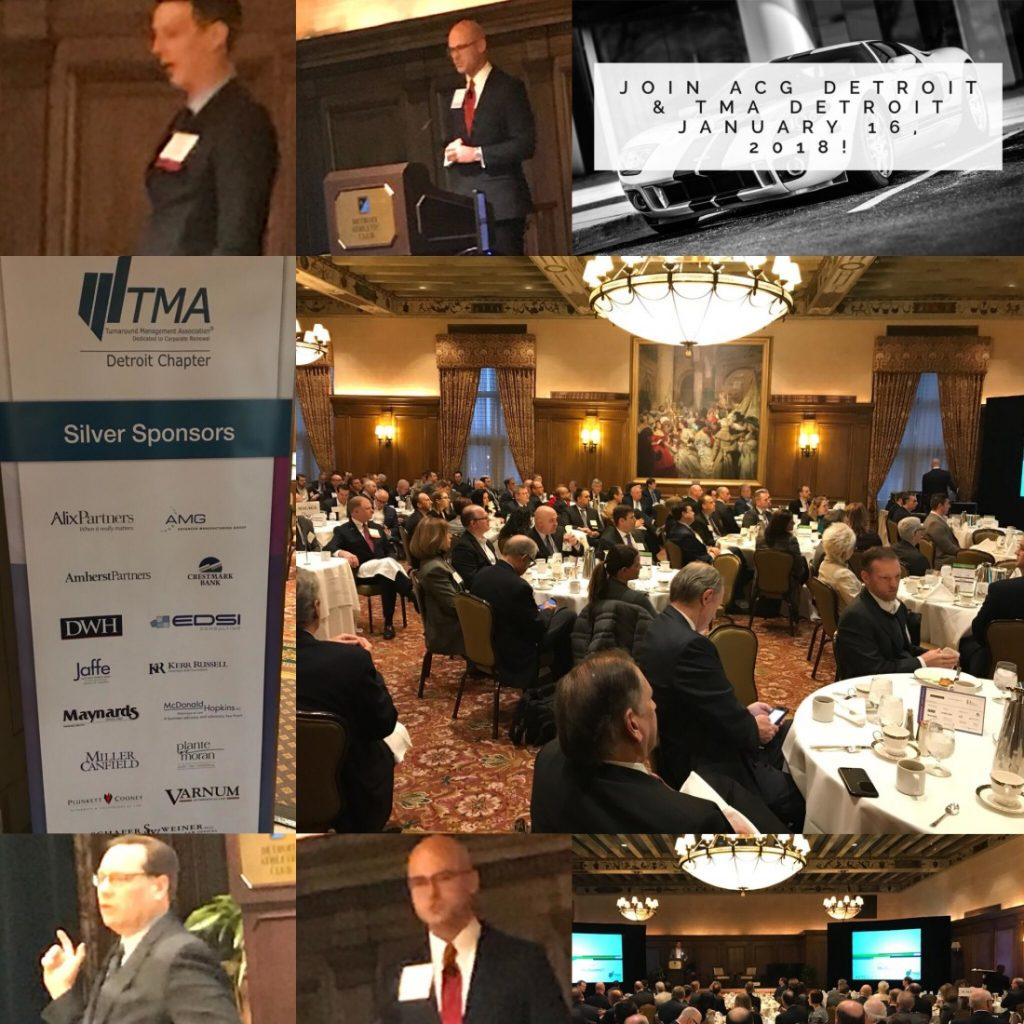 "ACG/TMA co-host, Kerr Russell sponsors ""Automotive Landscape: An Inside Look at a Driver of the Global Economy"""