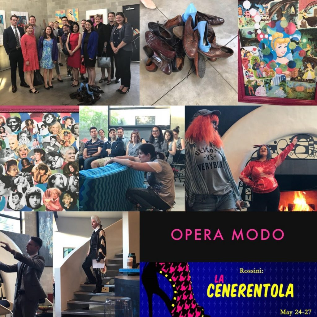 Kerr Russell supports, attorneys and guests attend Opera MODO's La Cenerentola (Cinderella), May 24-27