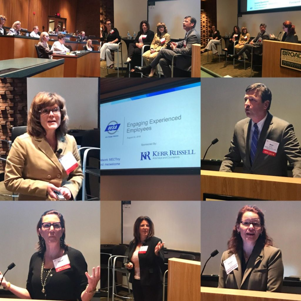 "Cross-industry panel addresses ""Engaging the Experienced Workforce"" at Kerr Russell/OESA hosted seminar"