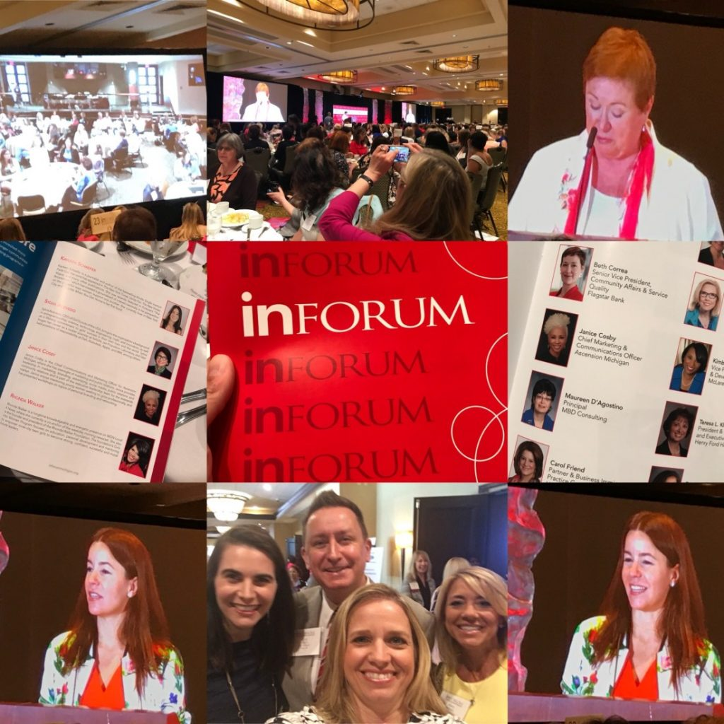 Kerr Russell celebrates power of friendship while attending Inforum's 56th Annual Meeting