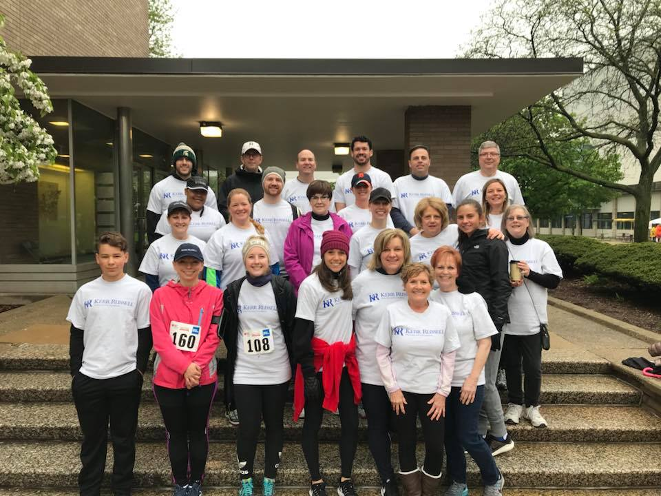Kerr Russell colleagues and family members spend Earth Day 2018 volunteering at Votrobeck Playground