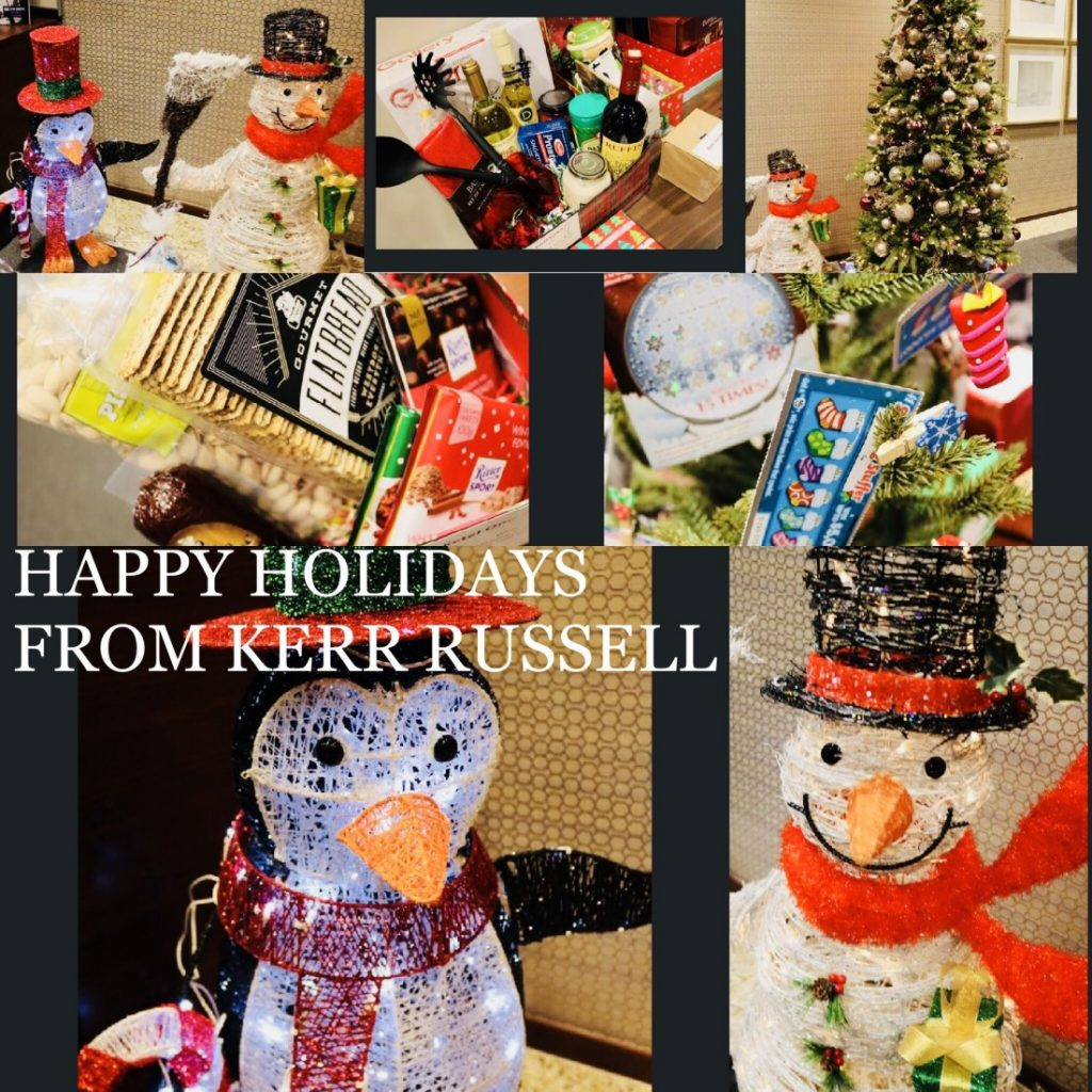 Kerr Russell team makes holiday donations to Capuchin Soup Kitchen, Wigs 4 Kids, Ronald McDonald House Charities of Ann Arbor, and Children's Hospital of Michigan
