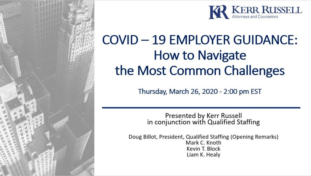 COVID-19 Employer Guidance: How to Navigate the Most Common Challenges