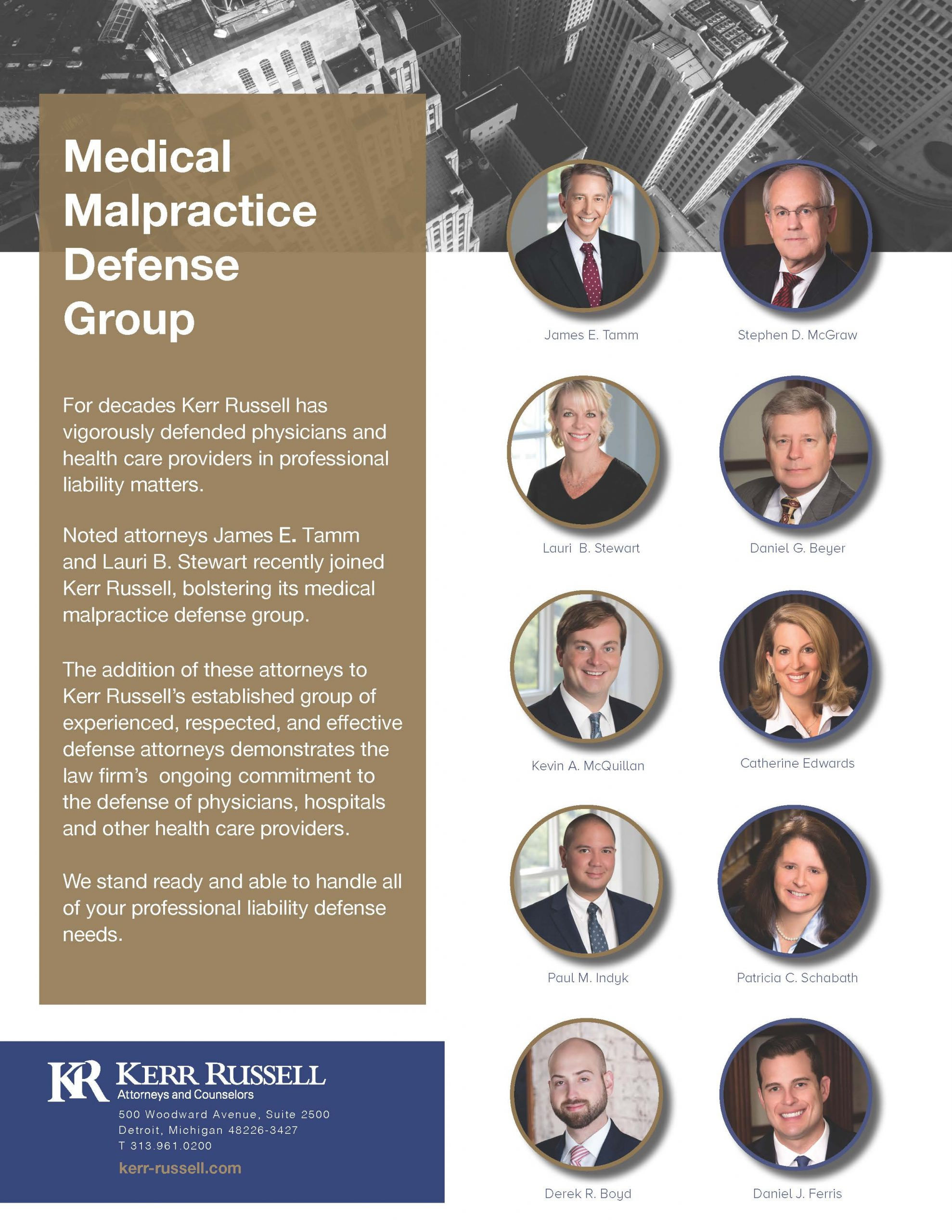 Medical Malpractice Defense Group