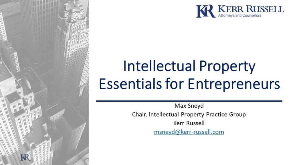 Intellectual Property Essentials for Entrepreneurs